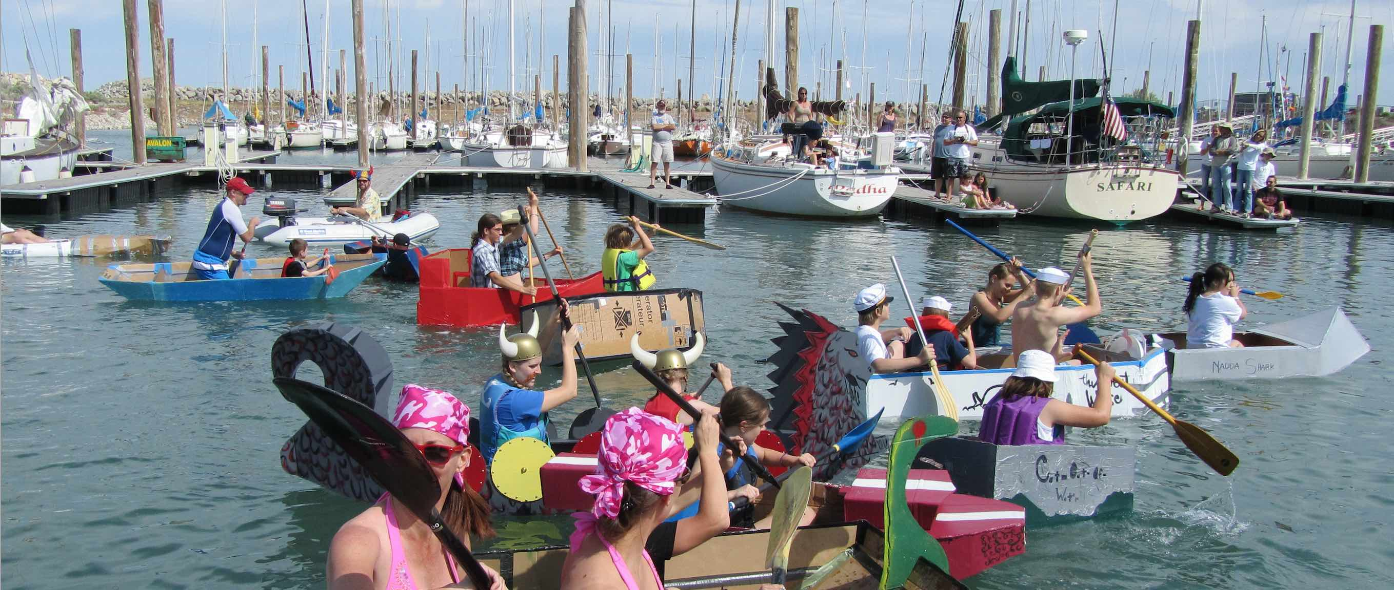 Sail Fest 2017!!! Get Your Cardboard Boat Ready!